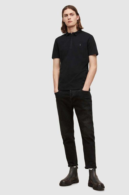 AllSaints - Polo tričko Brace SS Polo  100% Bavlna