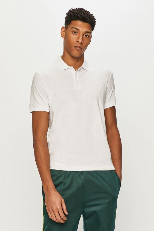 biały Premium by Jack&Jones - Polo Męski