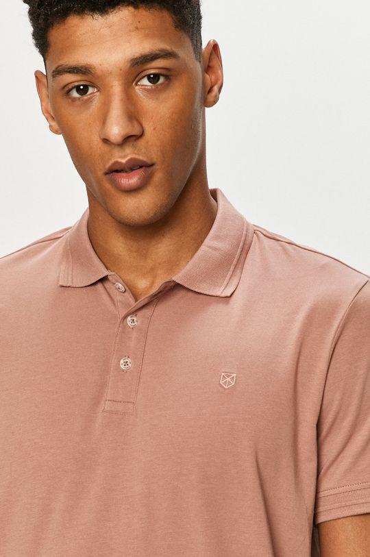 pastelová ružová Premium by Jack&Jones - Polo tričko