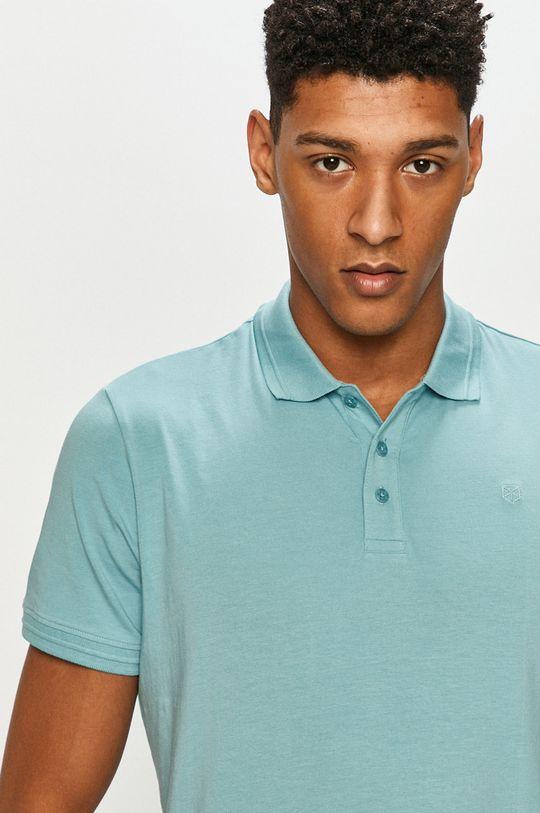 jasny niebieski Premium by Jack&Jones - Polo Męski