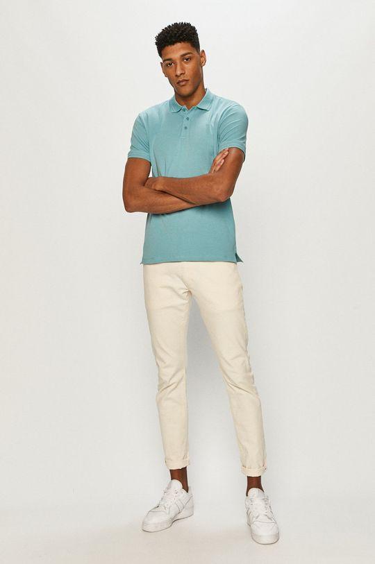 Premium by Jack&Jones - Polo jasny niebieski