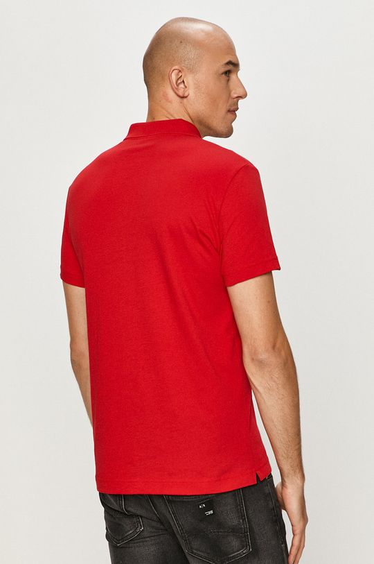 červená EA7 Emporio Armani - Polo tričko