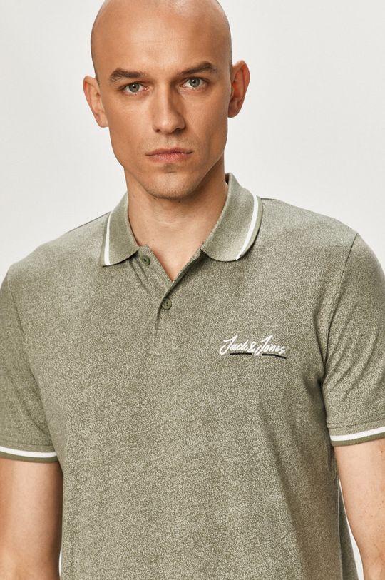 zelená Jack & Jones - Polo tričko Pánský