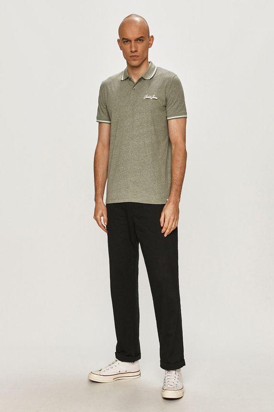 Jack & Jones - Polo tričko zelená