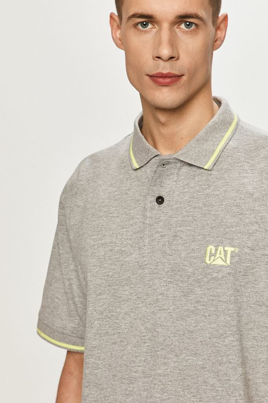 sivá Caterpillar - Polo tričko