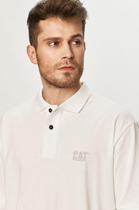 bílá Caterpillar - Polo tričko