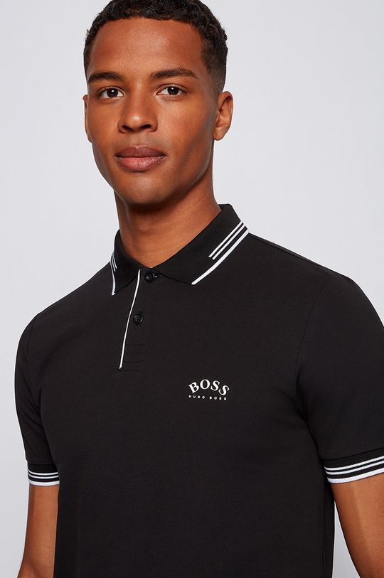 czarny Boss - Polo Boss Athleisure