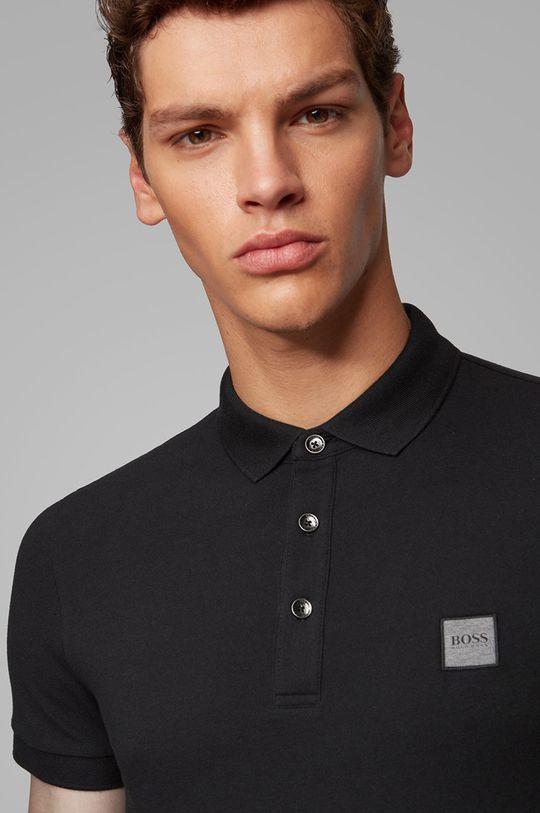 čierna Boss - Polo tričko Boss Casual