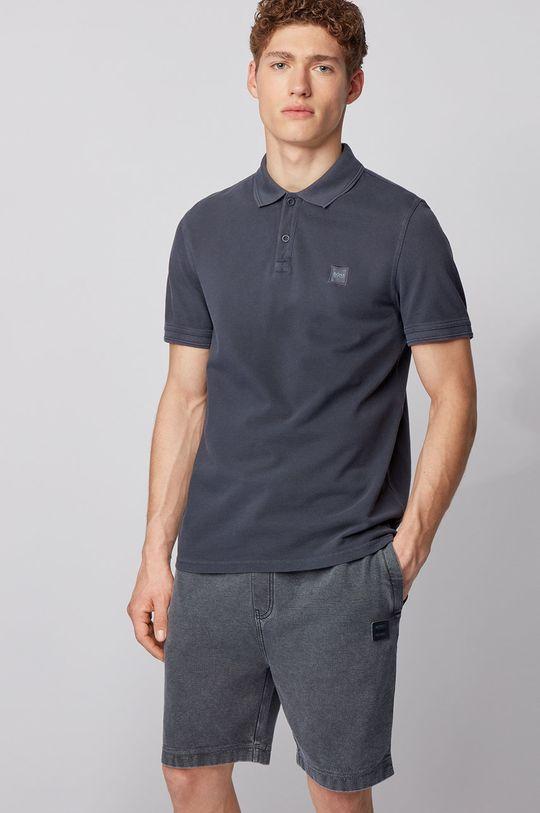 tmavomodrá Boss - Polo tričko Boss Casual Pánsky