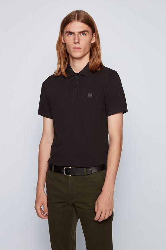 negru Boss - Tricou Polo Boss Casual De bărbați