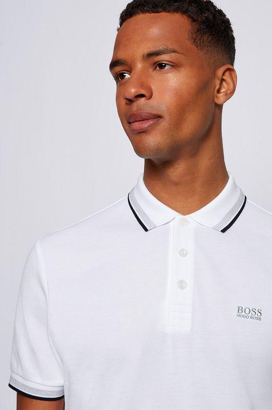 biały Boss - Polo Boss Athleisure