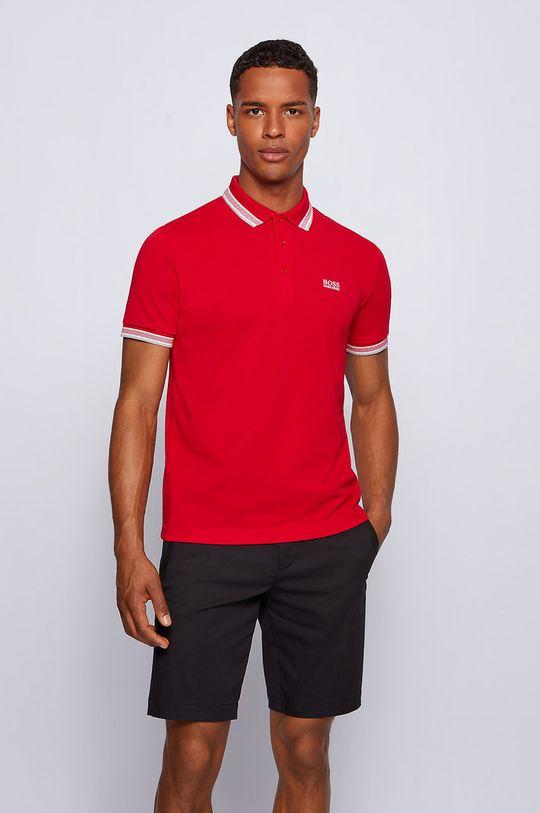 červená Boss - Polo tričko Boss Athleisure Pánsky