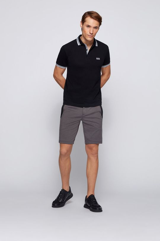Boss - Polo Boss Athleisure czarny