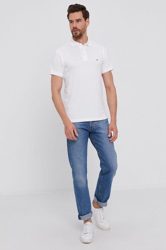 Tommy Hilfiger - Polo tričko bílá