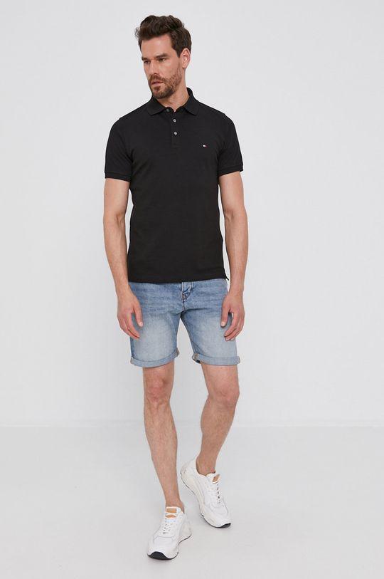 Tommy Hilfiger - Polo tričko černá