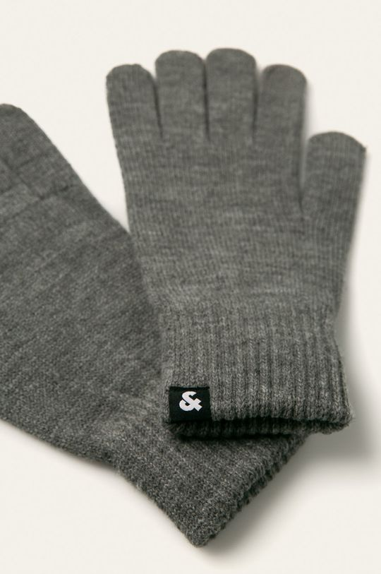 Jack & Jones - Rękawiczki szary