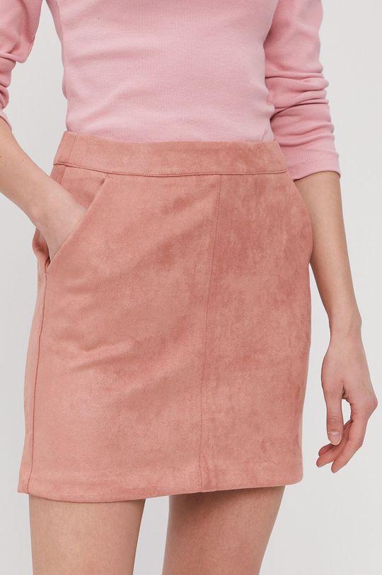 ružovo-červená Vero Moda - Sukňa Dámsky