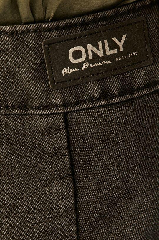 grafitowy Only - Spódnica jeansowa