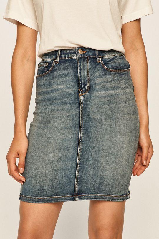 niebieski Vila - Spódnica jeansowa Damski