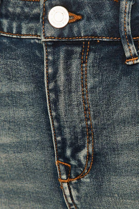 niebieski Vila - Spódnica jeansowa