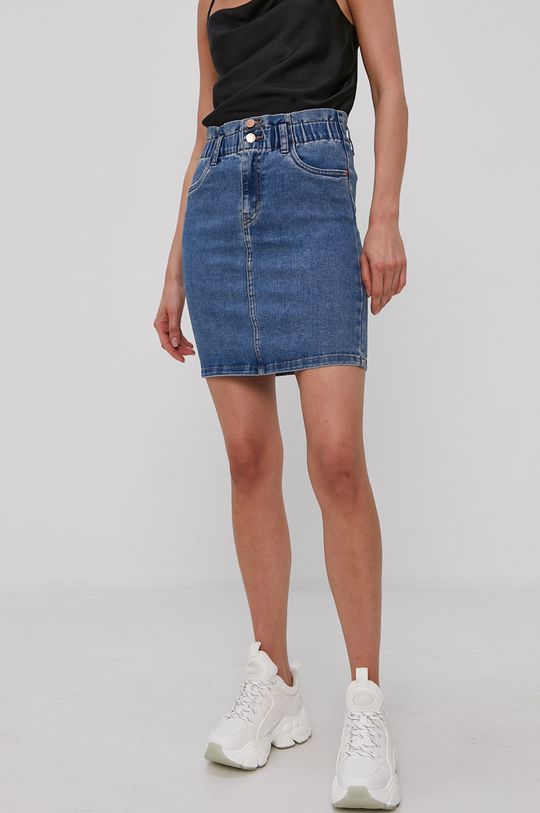 niebieski Vero Moda - Spódnica jeansowa Damski