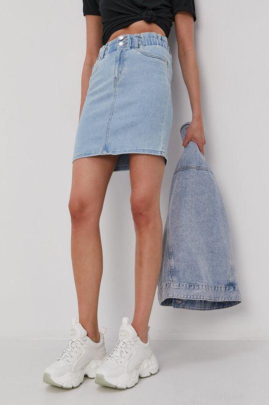 Vero Moda - Džínová sukně modrá