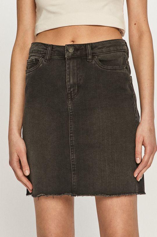 czarny Vero Moda - Spódnica jeansowa Damski