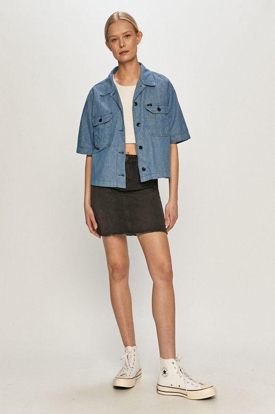 Vero Moda - Spódnica jeansowa czarny