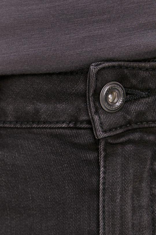 grafitowy Pieces - Spódnica jeansowa