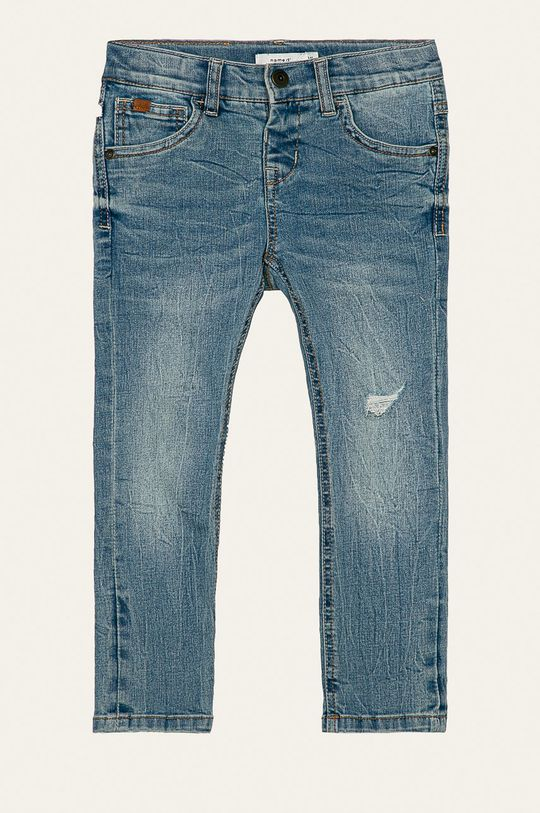 albastru Name it - Jeans copii Nkmbabu 104-164 cm De băieți