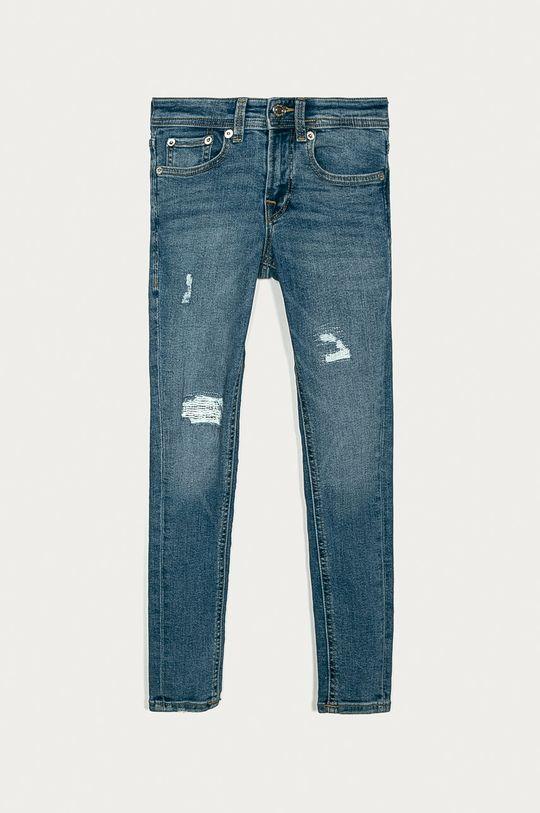 niebieski Jack & Jones - Jeansy dziecięce Liam 128-176 cm Chłopięcy