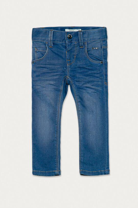 niebieski Name it - Jeansy dziecięce 92-164 cm Chłopięcy