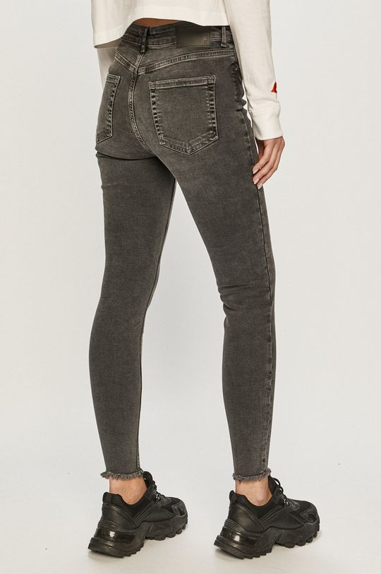Pieces - Jeansi Delly  98% Bumbac, 2% Elastan