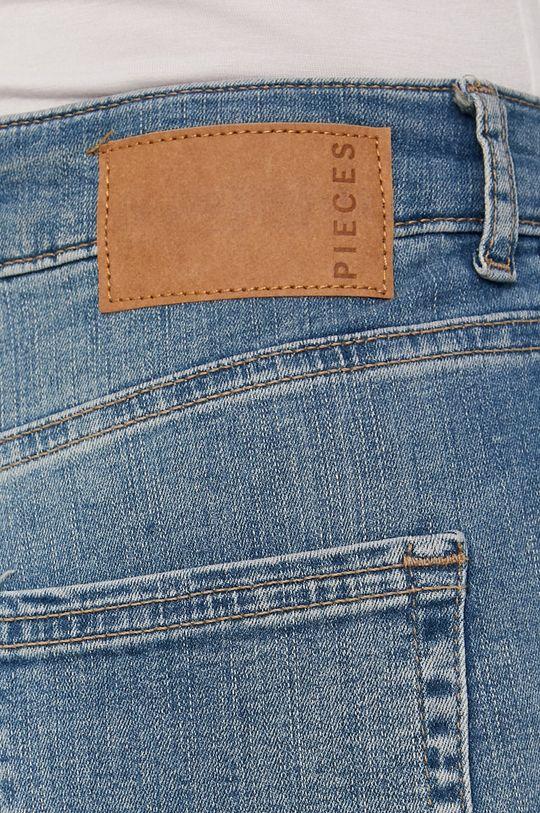 niebieski Pieces - Jeansy Delly