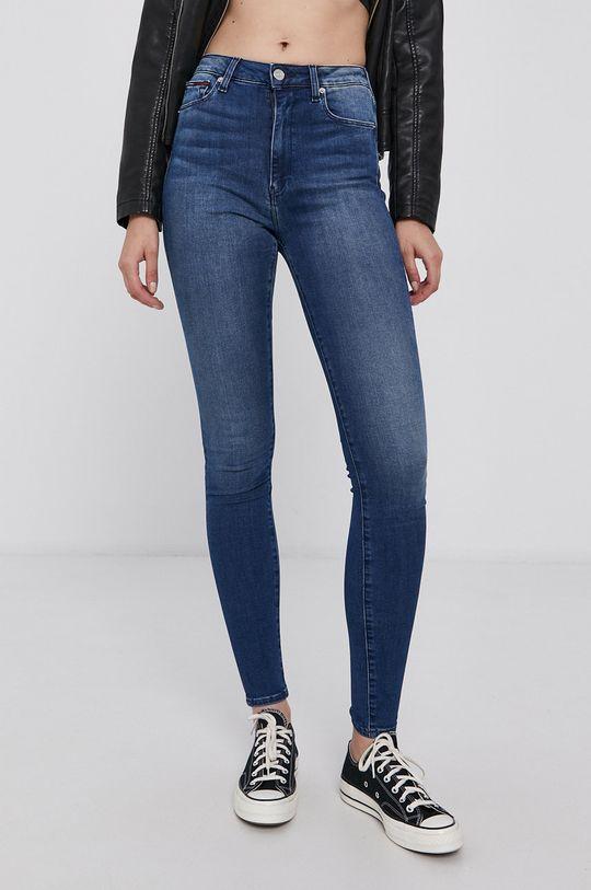 Tommy Jeans - Jeansy Sylvia niebieski