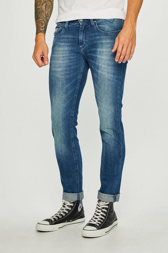 modrá Tommy Jeans - Džíny Scanton Pánský