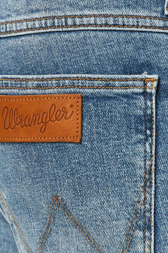 niebieski Wrangler - Jeansy Greensboro