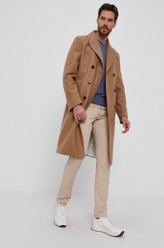 Emporio Armani - Spodnie beżowy