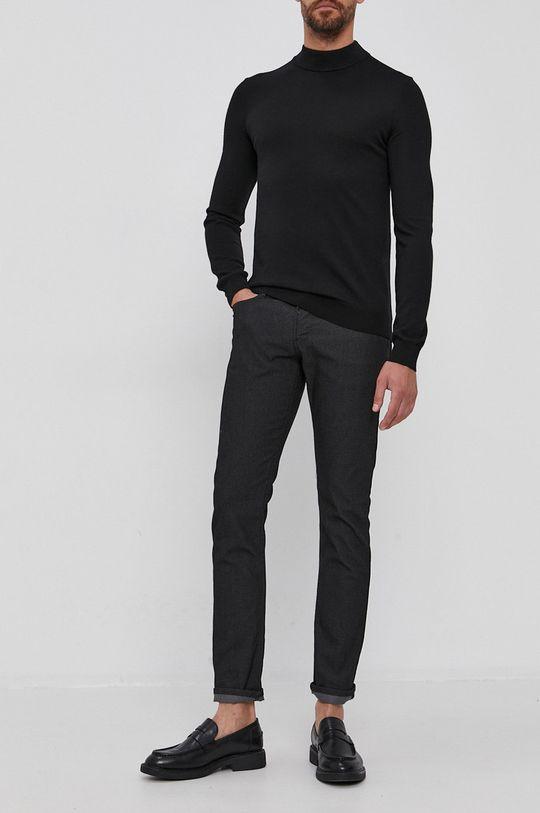 negru Emporio Armani - Pantaloni De bărbați