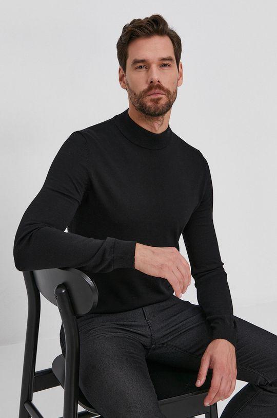 Emporio Armani - Pantaloni negru