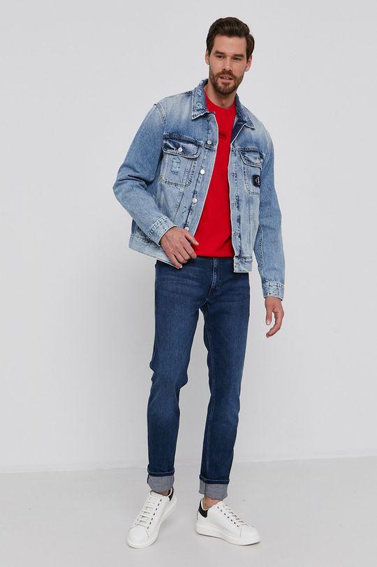 Hugo - Jeansy niebieski