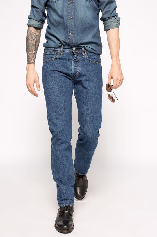 albastru Levi's - Jeansi 501 Regular Fit De bărbați