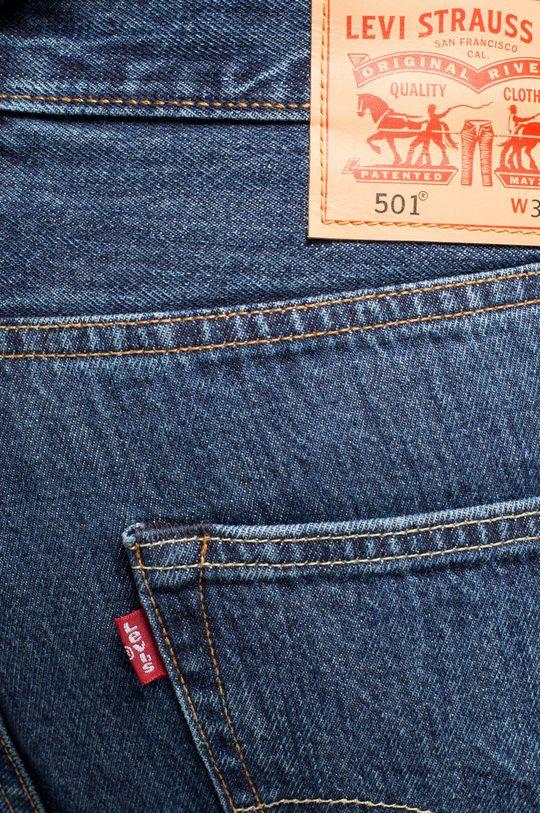 modrá Levi's - Džíny 501 Regular Fit