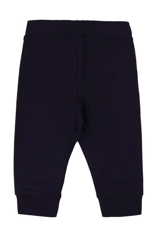 Boss - Dětské kalhoty 62-80 cm námořnická modř