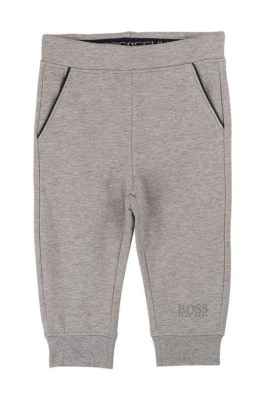 sivá Boss - Detské nohavice 62-80 cm Chlapčenský