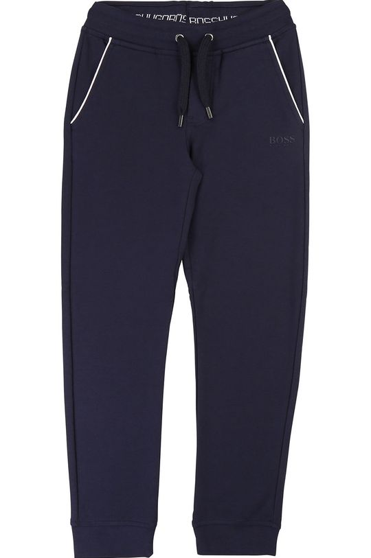 bleumarin Boss - Pantaloni copii 104-110 cm De băieți