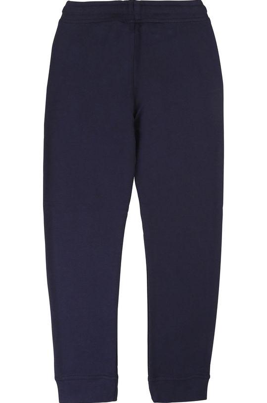 Boss - Dětské kalhoty 104-110 cm námořnická modř
