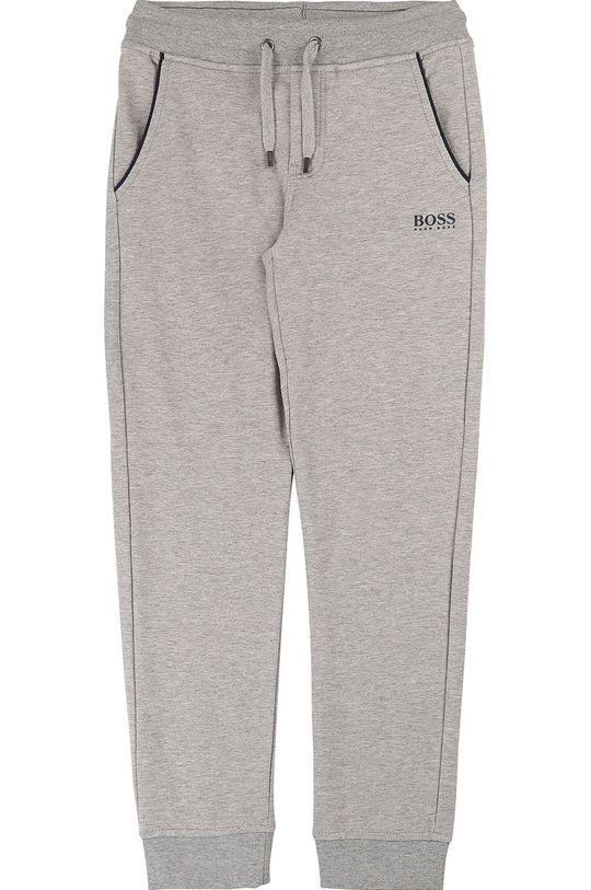 gri Boss - Pantaloni copii 164-176 cm De băieți