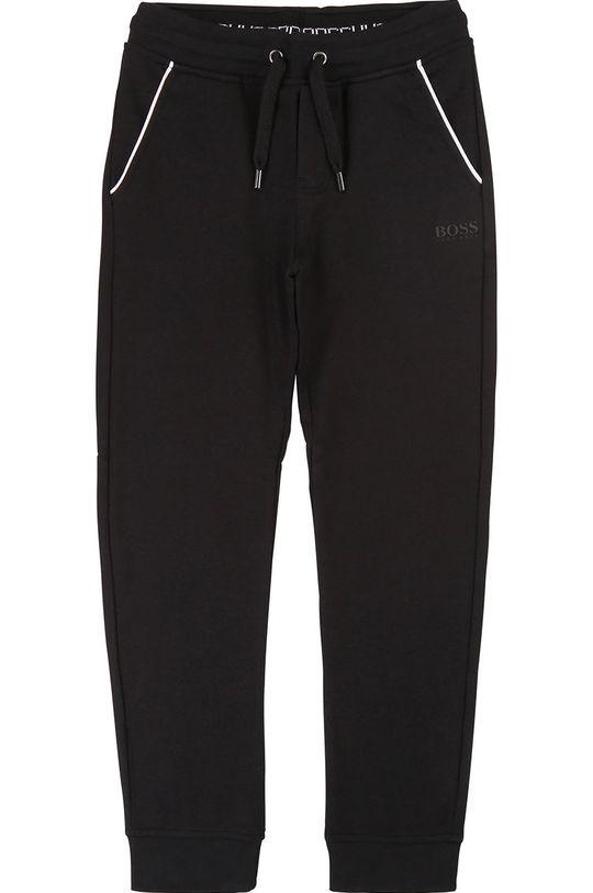 negru Boss - Pantaloni copii 164-176 cm De băieți