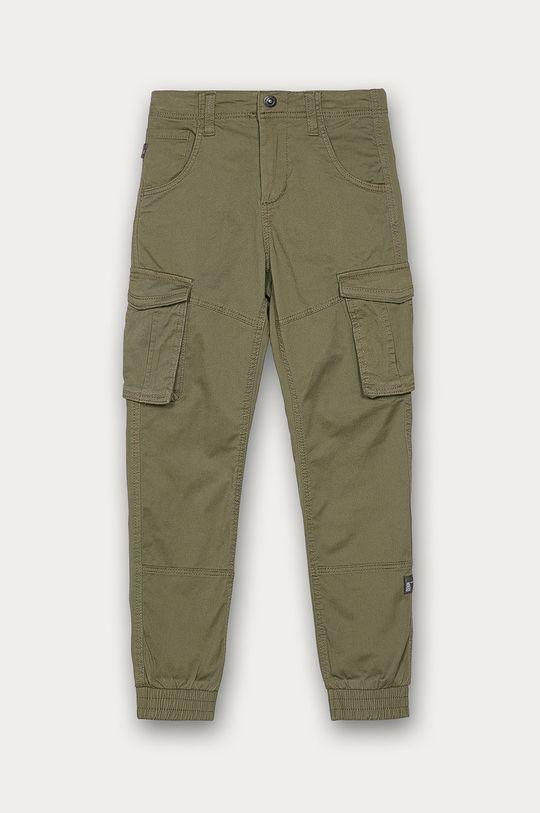 оливковий Name it - Дитячі штани 128-164 cm Для хлопчиків